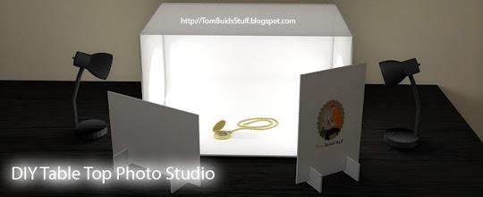 & DIY Table Top Photo Studio Plans