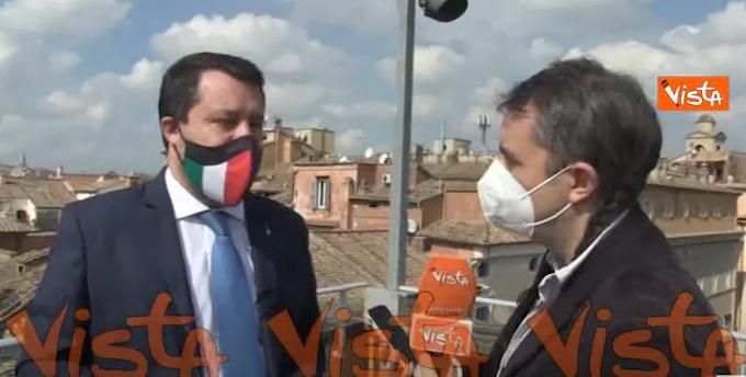 """Salvini: """"La maggior parte dei pazienti delle varianti può essere assistita a casa"""""""