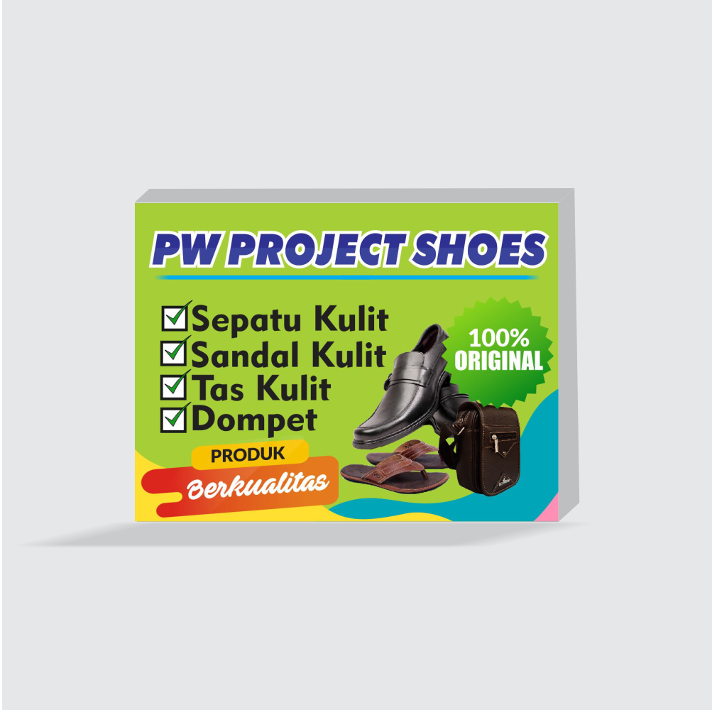 De Sain Neon Box: Contoh Desain Neon Box Untuk Toko Sepatu