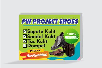 Contoh Desain Neon Box Untuk Toko Sepatu