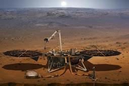 Suara Angin di Planet Mars Melalui Rekaman Robot InSight