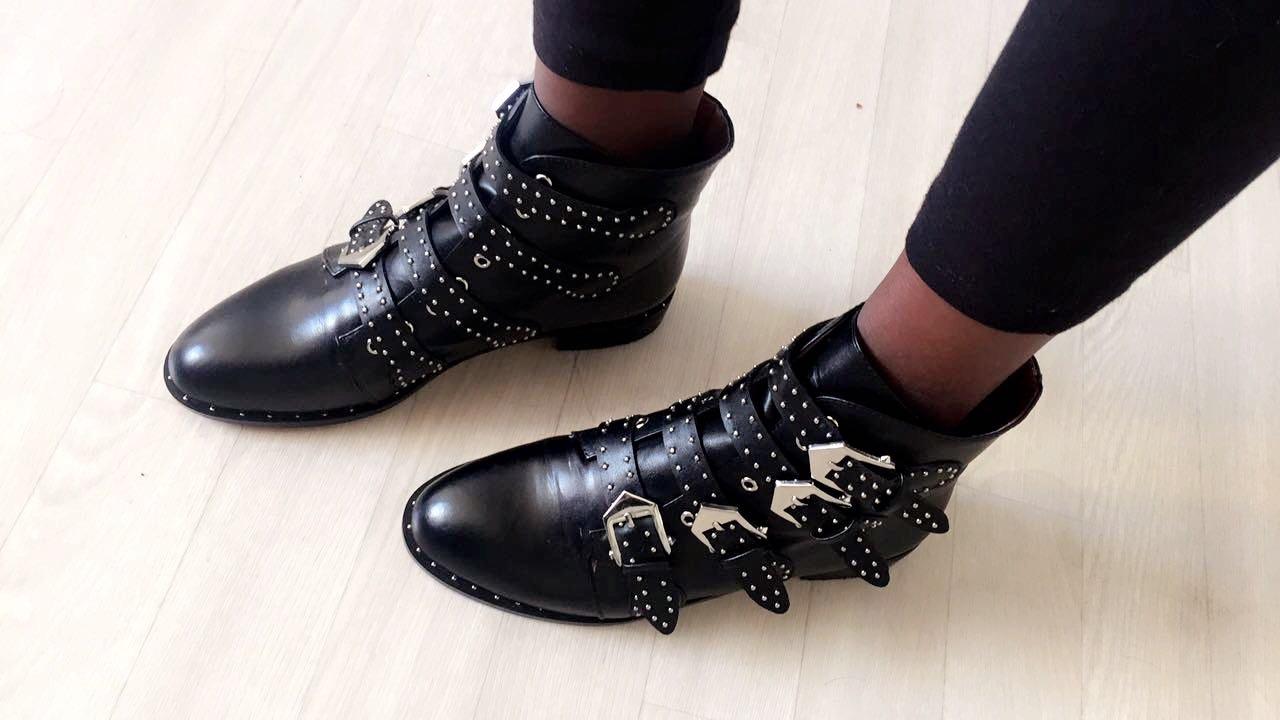 Super Best dupes des boots Givenchy Elegant - Styles by Assitan. Blog  HR11