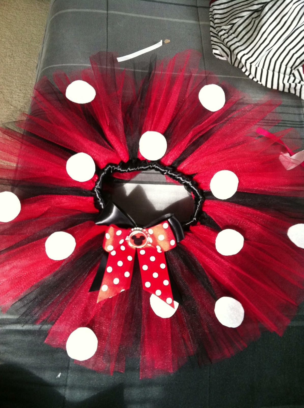 & Life with an Army Wife: Minnie Mouse Tutu Tutorial