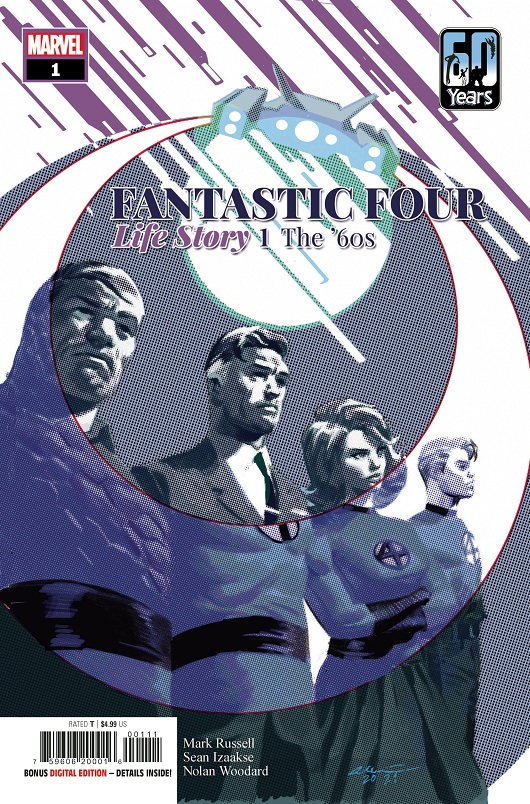 Cover of Fantastic Four: Life Story #1