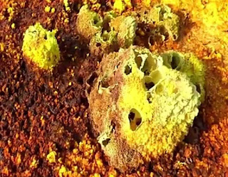 Most dangerous places in the world Danakil Depression in Ethiopia