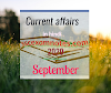 Current Affairs in Hindi September 2020