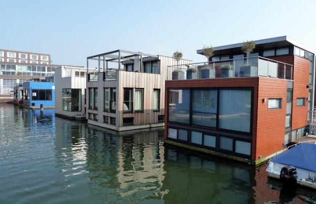 floating house design