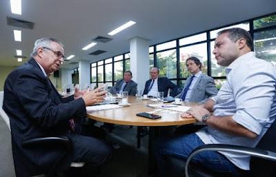 Representantes do Governo Federal visitam Maceió para acompanhar trabalho da CPRM no bairro Pinheiro
