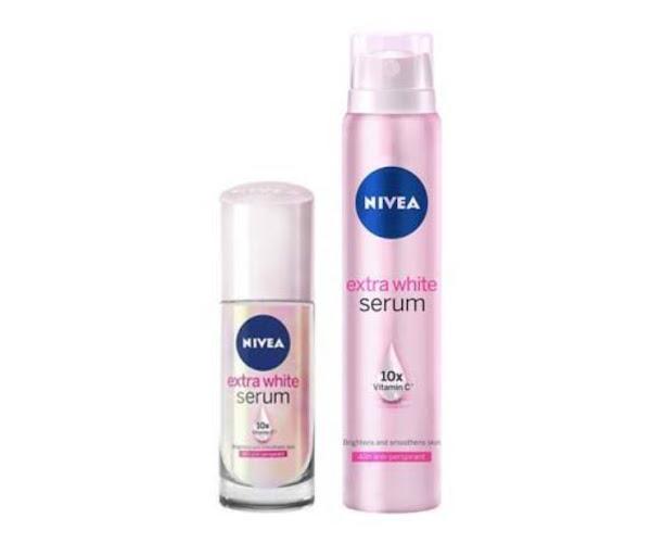Nivea Extra White Serum Memutihkan Ketiak Mengurangi Bau dan Keringat