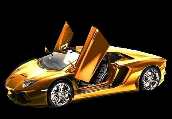 25 Increíbles Fondos De Pantalla Con Coches Super: CORTOCIRCUITO: DUBAI: Subastaran Un Lamborghini Hecho De