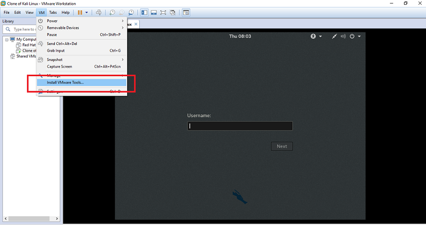 step by step guide on how to install vmware tools