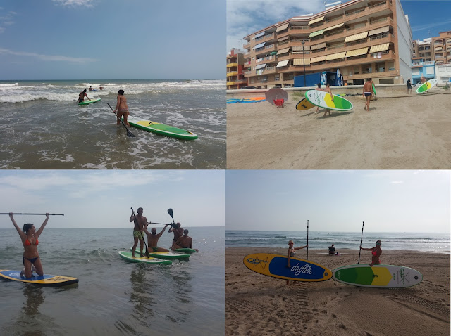 sup y surf en boatkite