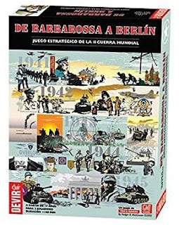 De Barbarossa a Berlin el juego de mesa de la segunda guerra mundial