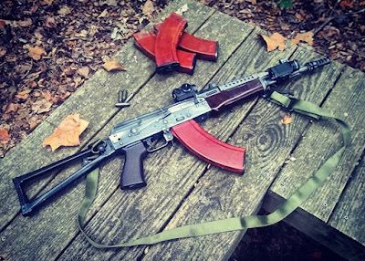 M85suchka-precision-AKM-ALG-trigger-optics-cheesegrater-triangle-sidefolder