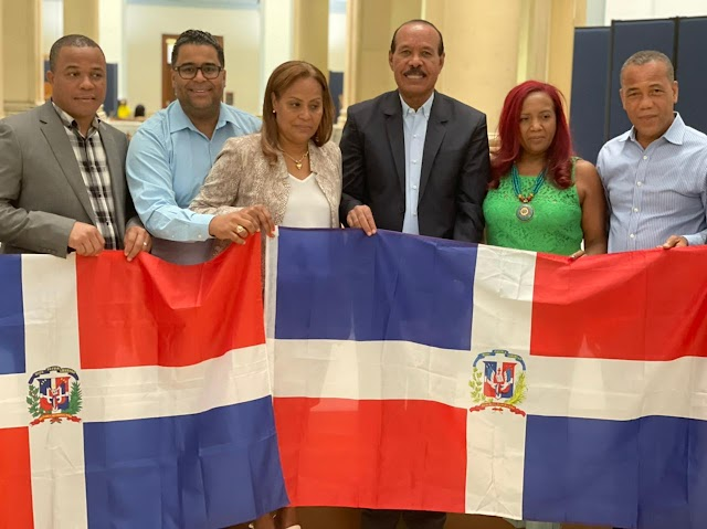 Alcalde de San Cristóbal en exitosa reunión con vicealcaldesa de Newark