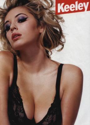 Retro Bikini: Keeley Hazell Graces The Cover Of Zoo ...