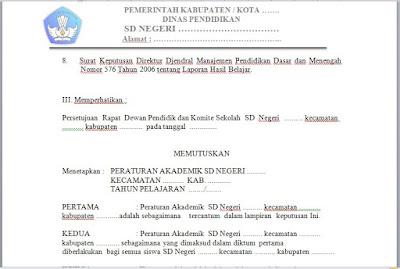 Download Contoh Peraturan Akademik di SD (Sekolah Dasar), http://www.librarypendidikan.com/
