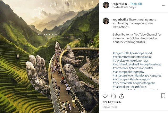 What did the author of the Golden Bridge - Terrace field photo say after the criticism