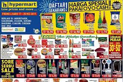 Katalog Promo Hypermart Weekend Terbaru 17 - 20 Mei 2019