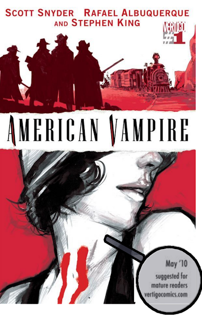American Vampire #1 by Scott Snyder, Rafael Albuquerque, and Stephen King
