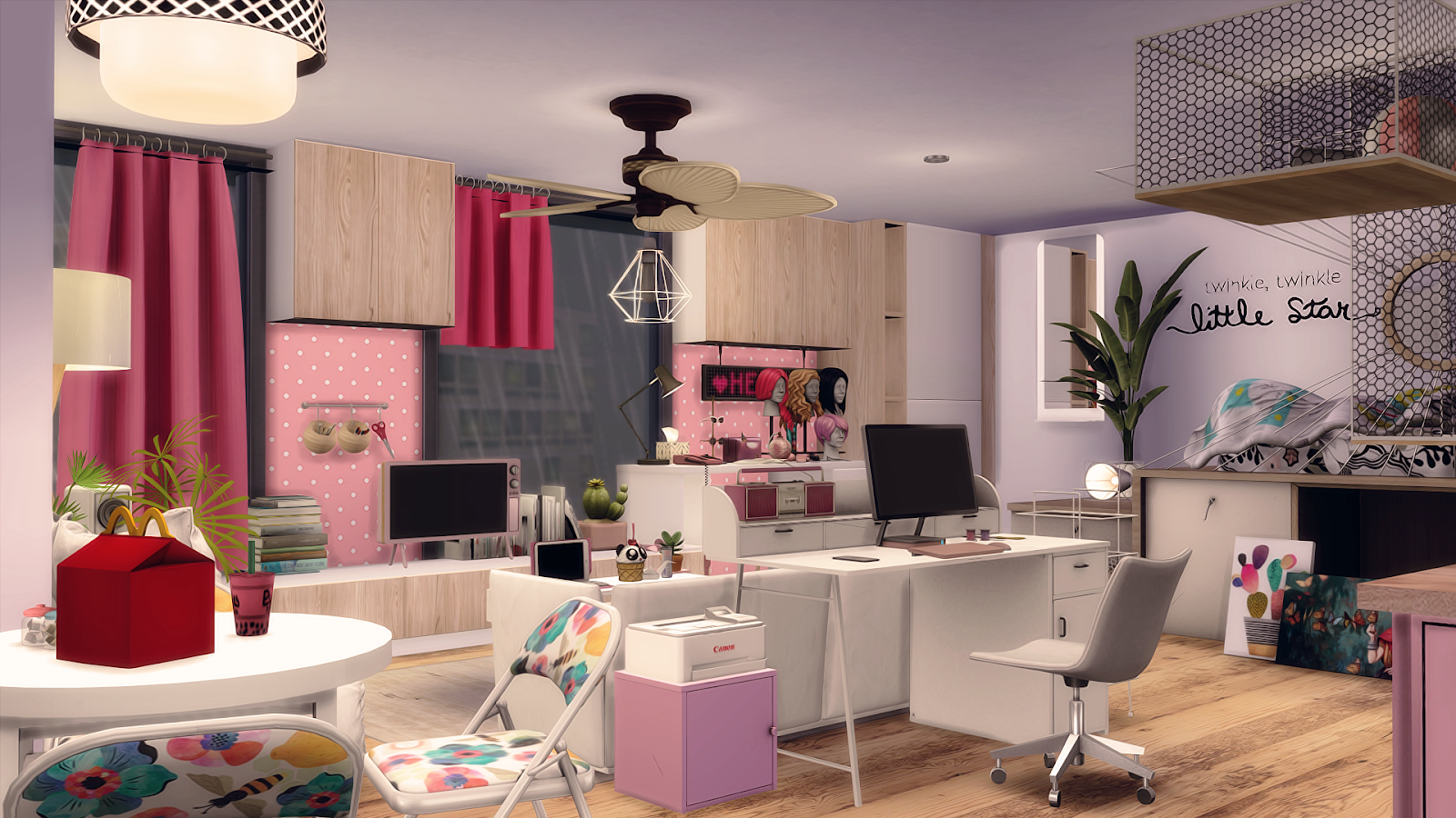63   MY FIRST APARTMENT -1312 21 CHIC STREET 🎀 ~ Soulsistersims