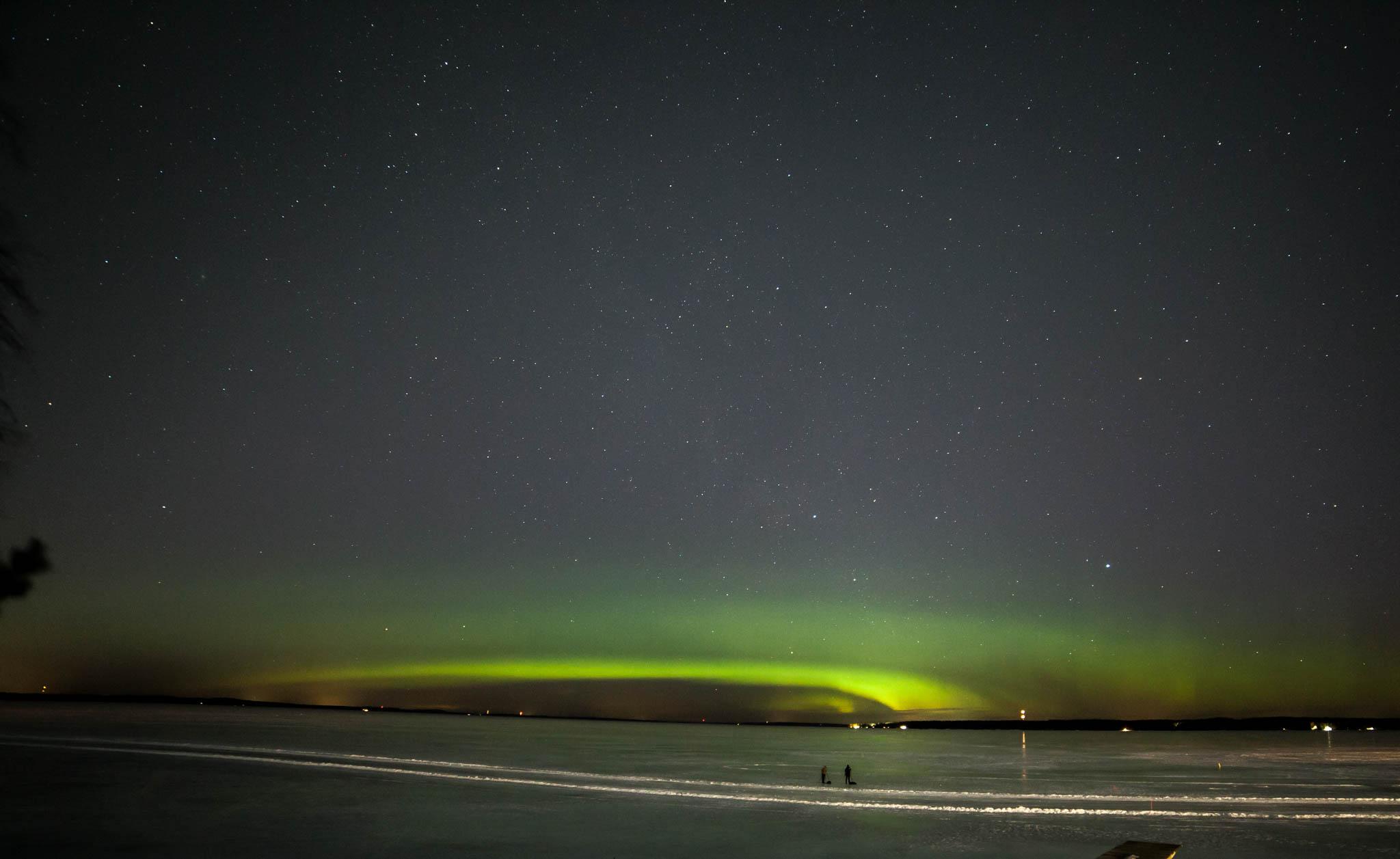 revontulet northern lights