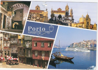 Portugal postcard from Daphne