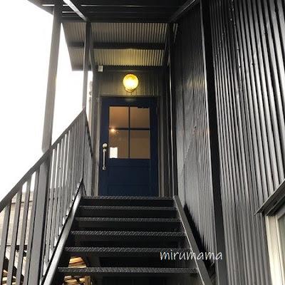 高木焼菓子の階段
