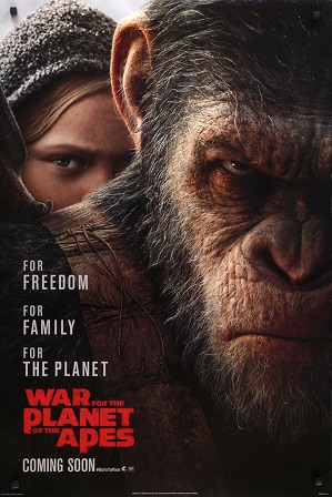War for the Planet of the Apes (2017) Full Hindi Dual Audio Movie Download 480p 720p 1080p BluRay