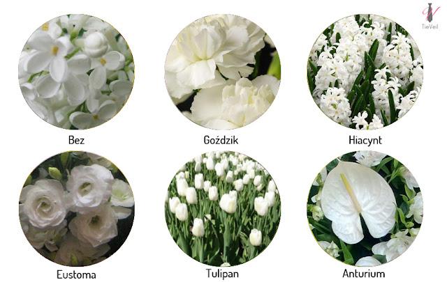 Kwiaty sezonowe na wesele. Grudzień