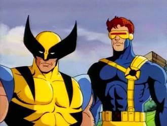 Logan en la serie animada de los X-Men de los años 90