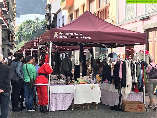 El Casco Histórico de Santa Cruz de La Palma muestra su descontento por la imagen que ofrece el Rastro-Mercadillo