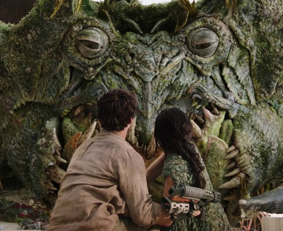 Caranguejo gigante - Amor e Monstros