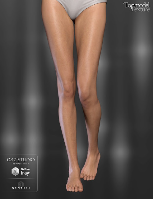 Topmodel Texture for Genesis 3 Female
