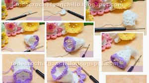 Cómo tejer una Base Crochet para Huevo