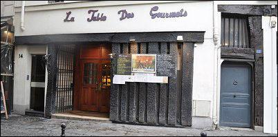 [法國] 巴黎/里沃利街【La Table des Gourmets】法國百年地窖餐廳 親民價格品嘗法式料理