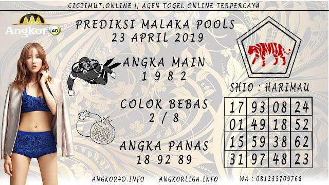 Prediksi Angka Jitu MALAKA POOLS 23 APRIL 2019