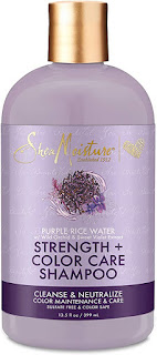 shea strength color care shampoo sulfate free 399ml