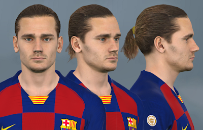 PES 2017 Faces Antoine Griezmann by WER Facemaker
