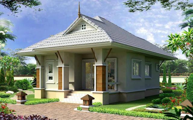 rumah minimalis satu lantai terbaru