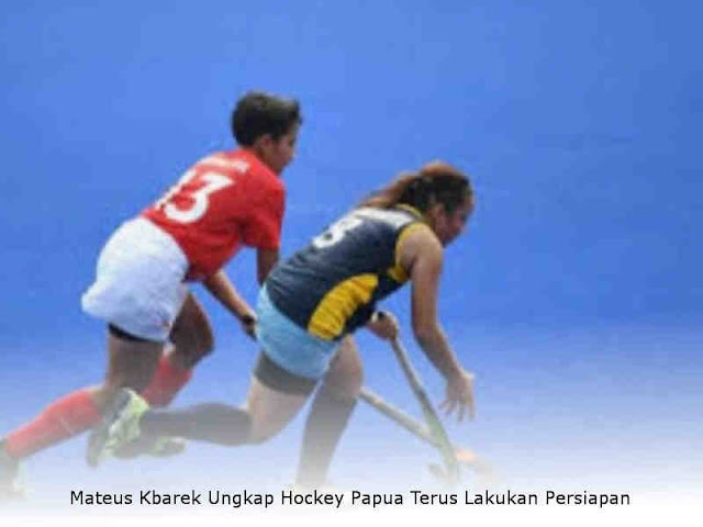 Mateus Kbarek Ungkap Hockey Papua Terus Lakukan Persiapan