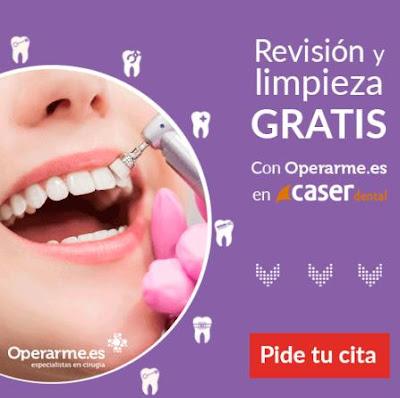 Revisión y limpieza dental gratis