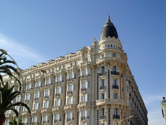 InterContinental Carlton Cannes Hotel- Wikimedia