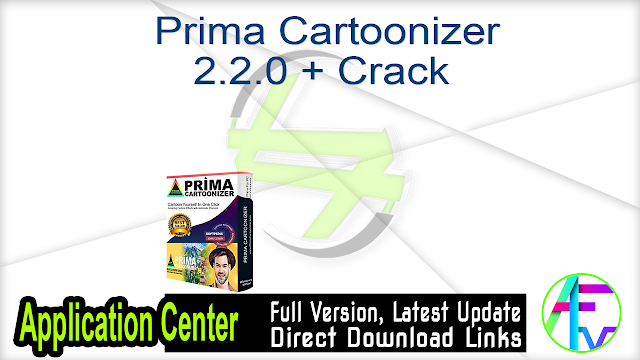 Prima Cartoonizer 2.2.0 + Crack