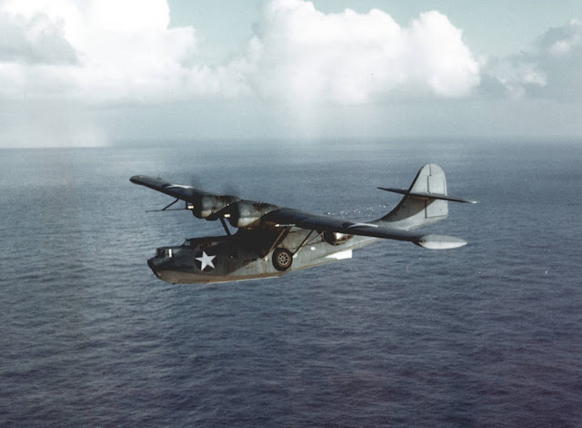 Consolidated PBY Catalina Color photos World War II worldwartwo.filminspector.com