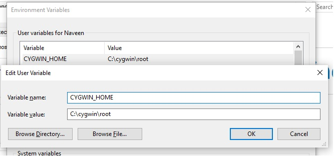 Cygwin Ext4