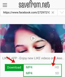 download ya mp4 hd ya mp4sd par click kare