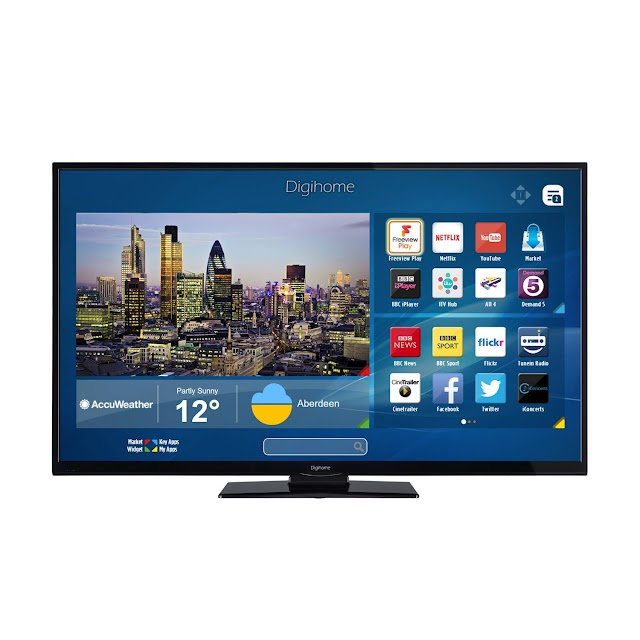 "Digihome 55292UHDSFVPT2 55"" 4K Ultra HD Smart LED TV specs"