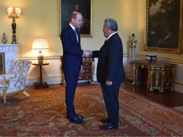 Kolejne audiencje w Pałacu Buckingham