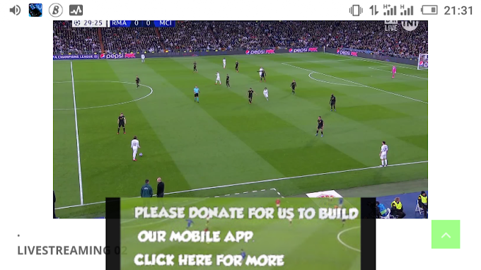 Watch Real Madrid vs Manchester City live on your mobile phone